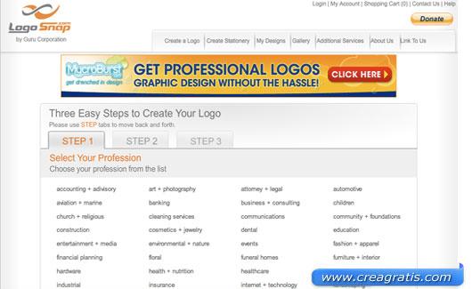 Decimo sito per creare un logo online