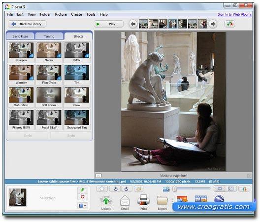 Primo software free per la gestione di foto