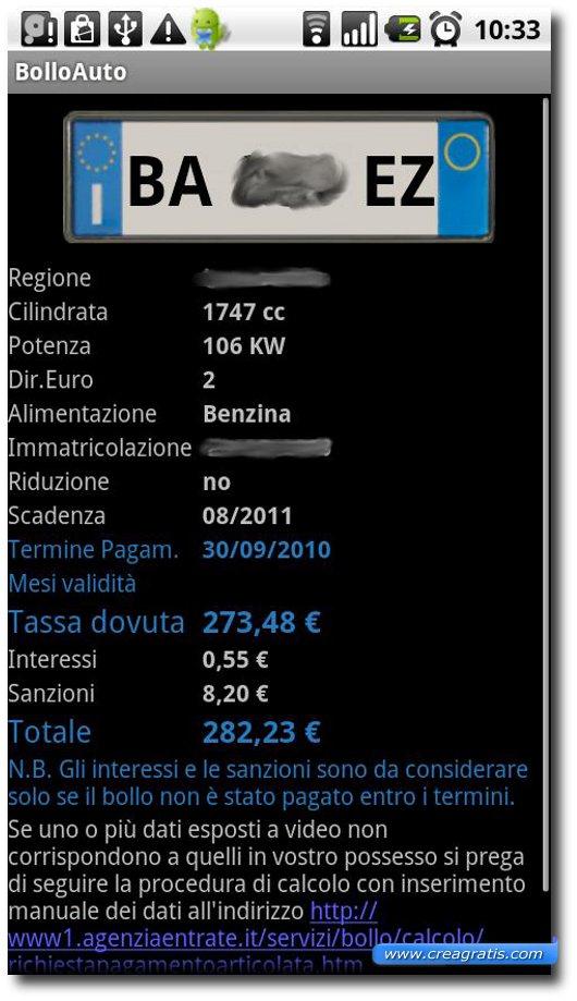 App per controllare la scadenza del bollo auto e moto