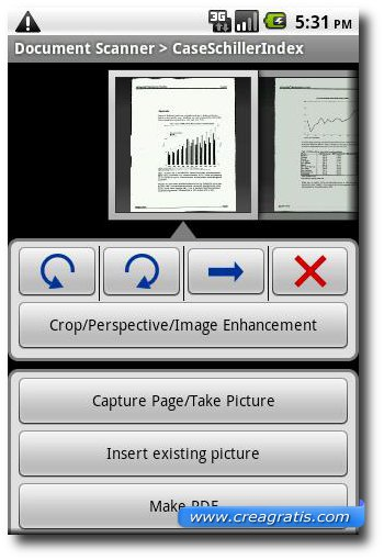 Seconda app per scannerizzare documenti con Android