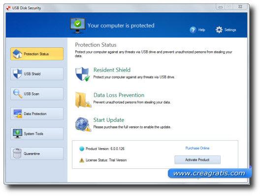 Primo antivirus per proteggere il computer da chiavette USB infette