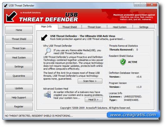 Secondo antivirus per proteggere il computer da chiavette USB infette