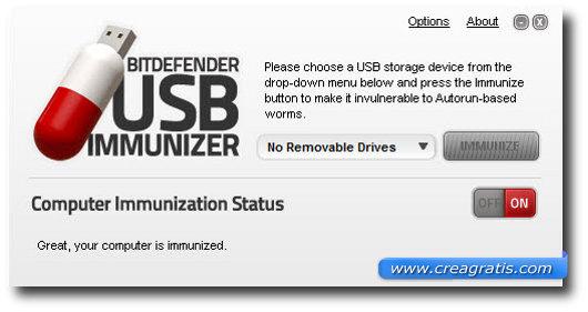 Quarto antivirus per proteggere il computer da chiavette USB infette