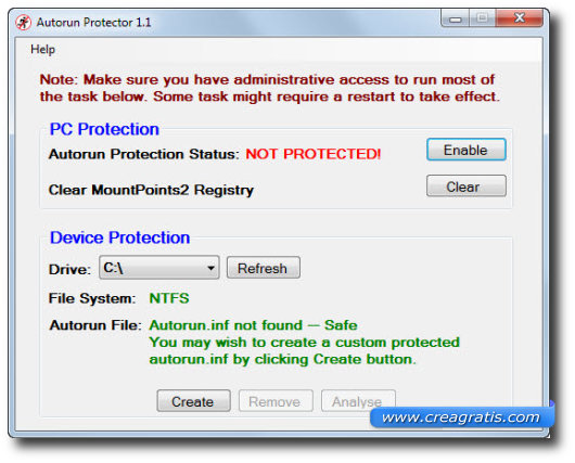 Ottavo antivirus per proteggere il computer da chiavette USB infette