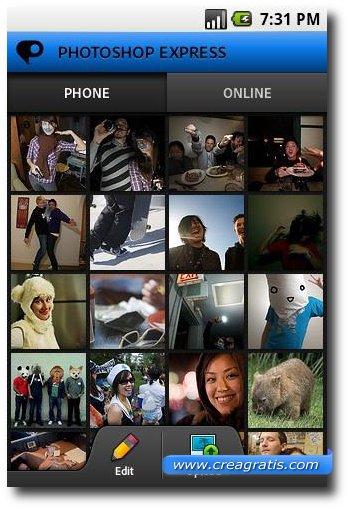 Seconda app Android per fare fotografie