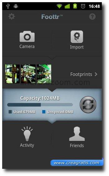 Quarta app Android per fare fotografie