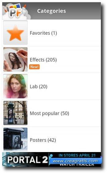 Quinta app Android per fare fotografie