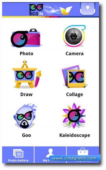 Decima app Android per fare fotografie