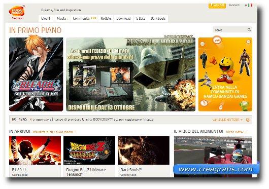 Immagine del terzo sito per scaricare giochi