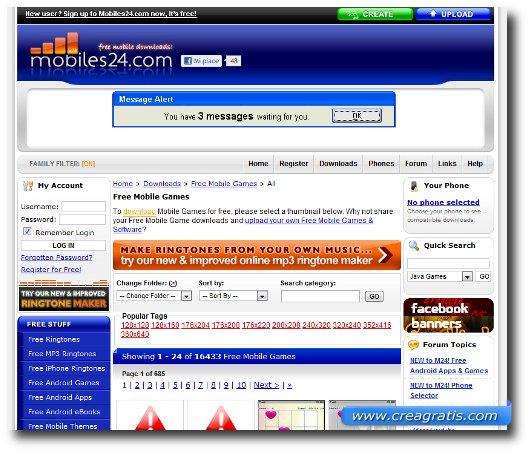 Immagine del quinto sito per scaricare giochi