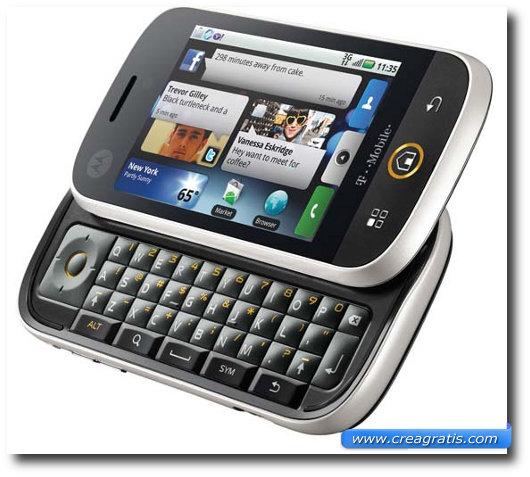 Immagine di Motorola CLIQ – MOTOBLUR