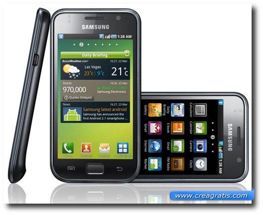 Immagine del Samsung Galaxy S 4G