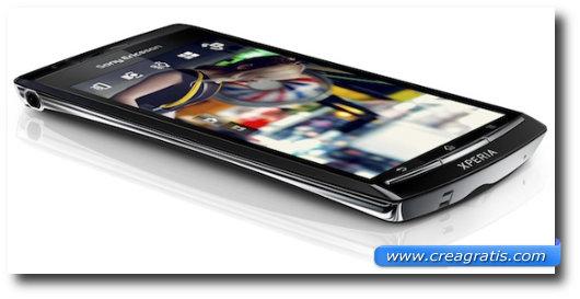 Immagine del Sony Ericsson Xperia Arc