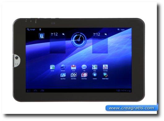 Immagine del terzo tablet Android