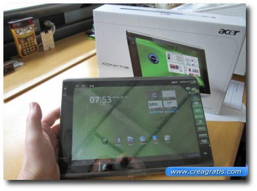 Immagine del quarto tablet Android