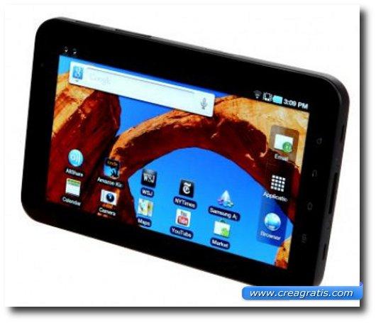 Immagine del settimo tablet Android