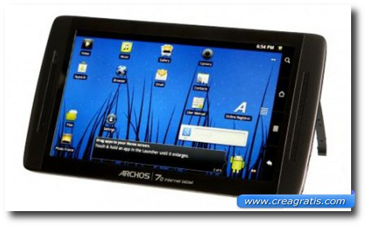 Immagine del nono tablet Android