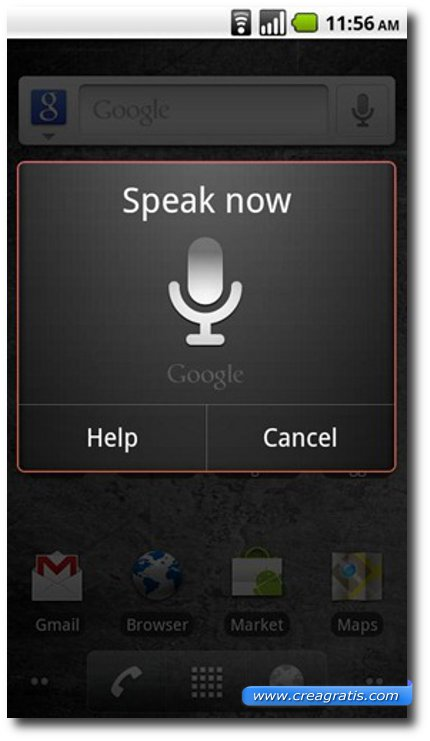 Seconda applicazione come Siri per Android