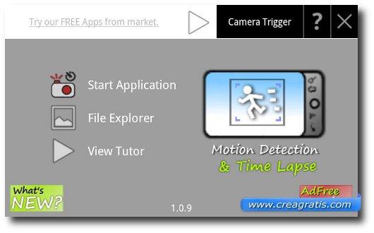 Prima app Android per fare foto particolari