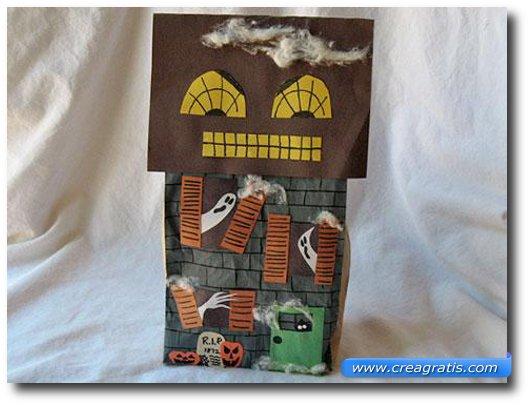 Lavoretto della casa dei fantasmi per Halloween