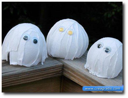Lavoretto degli ecoplasmi per Halloween