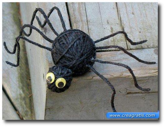Lavoretto del ragno per Halloween