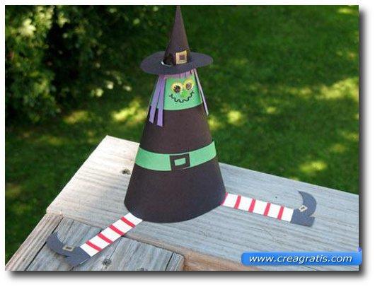 Lavoretto della strega per Halloween