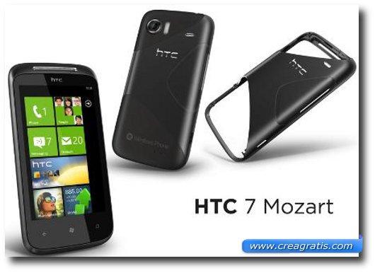 Immagine dell'HTC Mozard, uno dei migliori smartphone HTC