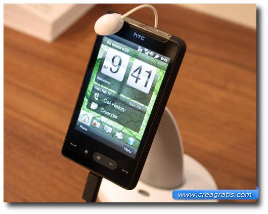 Immagine dell'HTC HD Mini, uno dei migliori smartphone HTC