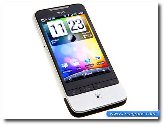 Immagine dell'HTC Legend, uno dei migliori smartphone HTC
