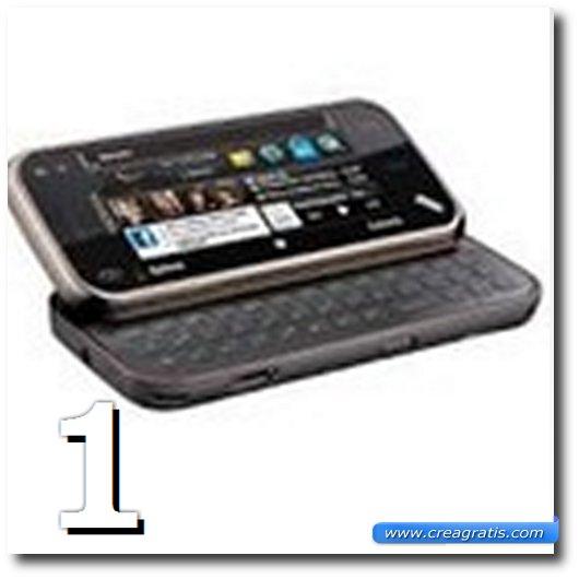 Immagine dell' N97 Mini, uno dei migliori cellulari Nokia