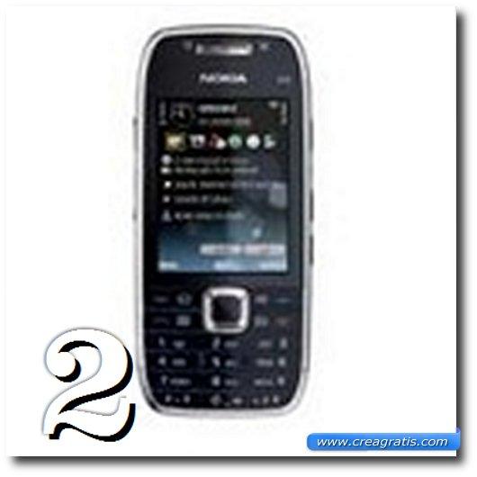 Immagine dell' E75, uno dei migliori cellulari Nokia