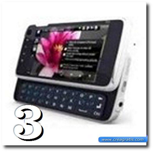 Immagine dell' N900, uno dei migliori cellulari Nokia