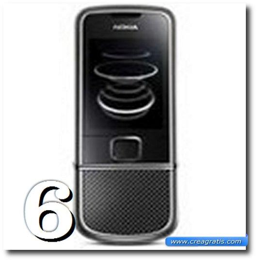 Immagine dell' 8800 Carbon Arte, uno dei migliori cellulari Nokia