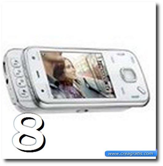 Immagine dell' N86 8MP, uno dei migliori cellulari Nokia
