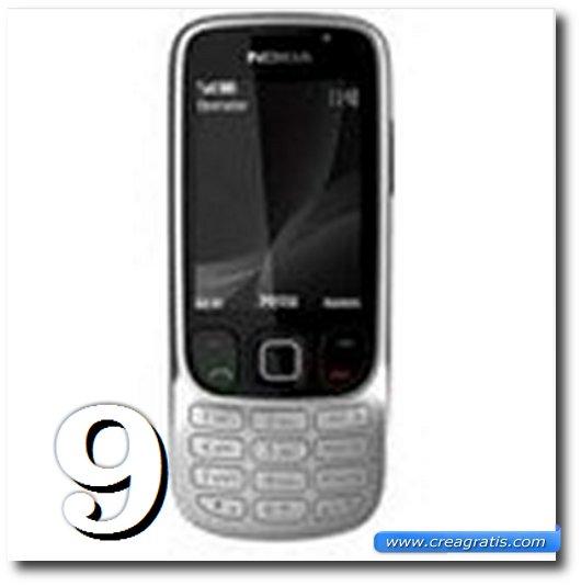 Immagine dell' 6303i Classic, uno dei migliori cellulari Nokia