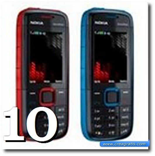 Immagine del 5130 Xpress Music, uno dei migliori cellulari Nokia
