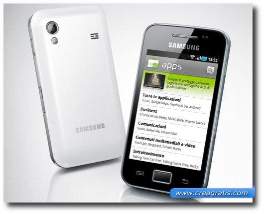 Nono dei migliori smartphone Samsung
