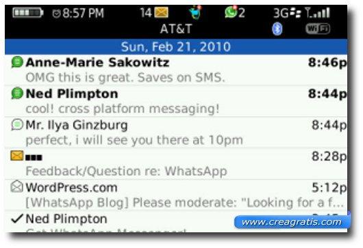 Quinta applicazione per BlackBerry