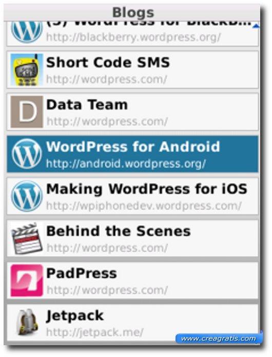 Decima applicazione per BalckBerry