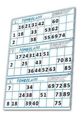 cartelle bingo gratis