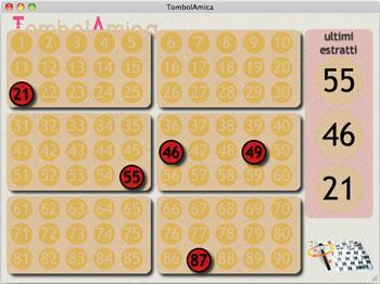 Terzo programma per l'estrazione dei numeri della tombola