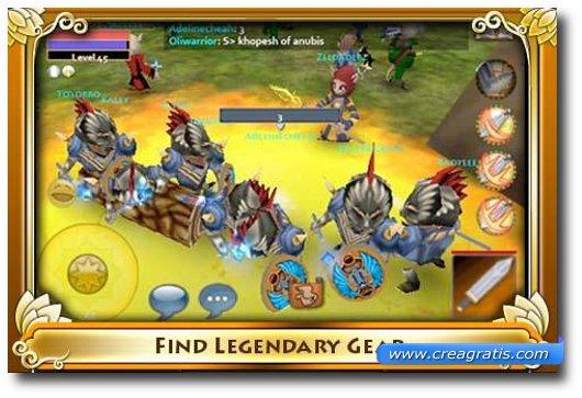 Immagine del gioco Pocket Legend