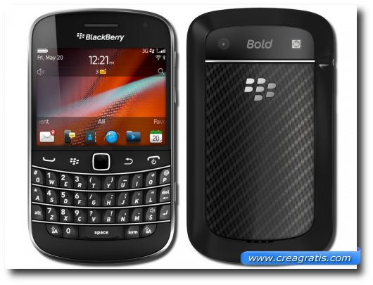 Immagine del Blackberry Bold 9900