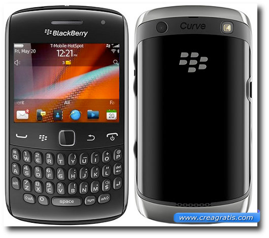Immagine del BlackBerry Curve 9360