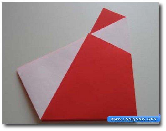Istruzioni per creare Babbo Natale di carta