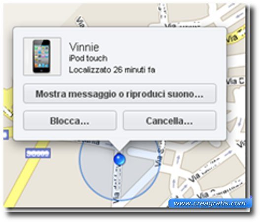 App per rintracciare l'iPhone