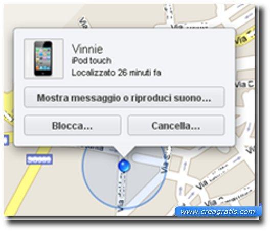 App per rintracciare l'iPhone