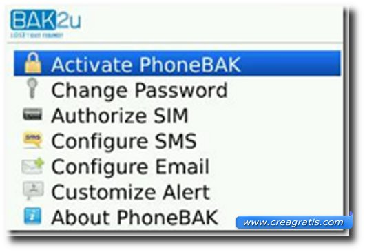App per rintracciare un cellulare BlackBerry