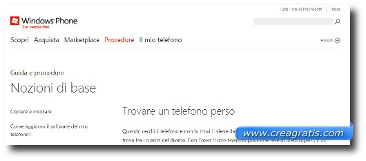 Come rintracciare un cellulare Windows Phone 7